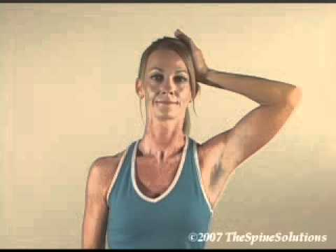 Isometric Neck Exercises Videos Neck Isometric Exercise