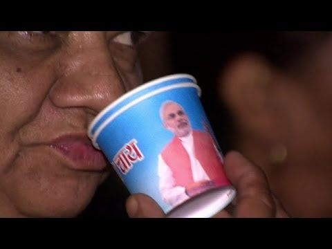 BBC- India BJP PM candidate Narendra Modi's tea party