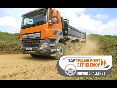 DAF Trucks UK | The DAF Transport Efficiency Driver Challenge - Part 3 | Millbrook Proving Grounds