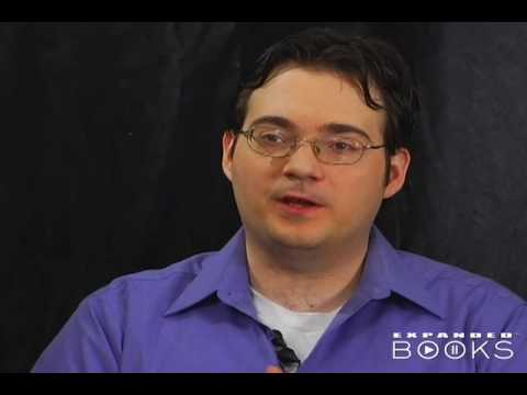 Brandon Sanderson talks about new standalone novel, Warbreaker