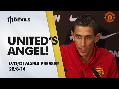 United's Angel | Louis Van Gaal/Angel Di Maria Press Conference | Manchester United