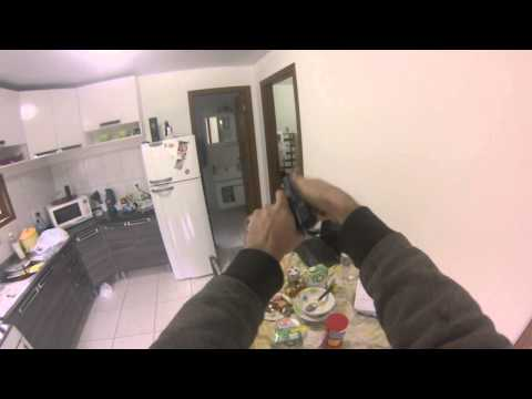 test  pistola airsoft spring s&w mp40