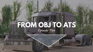 [Blender] From OBJ to ATS | Episode 2 |