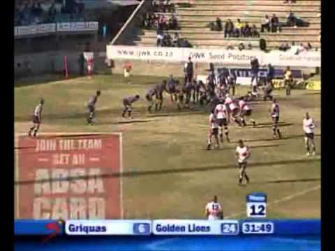 Griquas vs Golden Lions - Currie Cup Match Highlights 2011