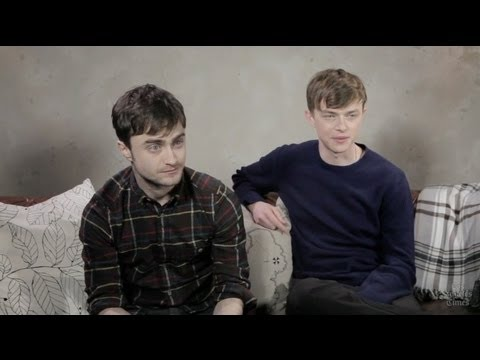 Daniel Radcliffe, Dane DeHaan on 'Kill Your Darlings': Sundance Film Festival