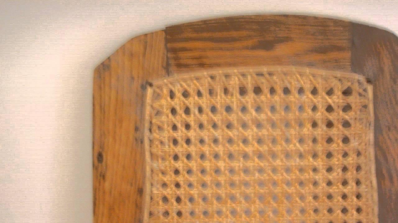 repairing a cane bottom chair bonus