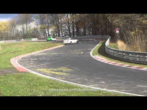 BMW E 46 Crash/Unfall/Spin 9.11.13 Nordschleife Touristenfahrten - HD