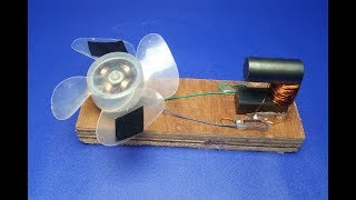 Free energy fan with copper wire self running magnets - Science & Technology 2018    simple at home