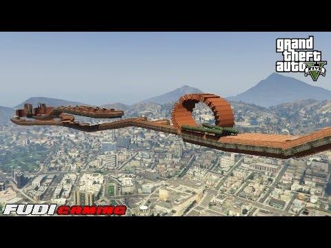 GTA 5 Online Courses WTF #29 FG_Bad A$$ Race
