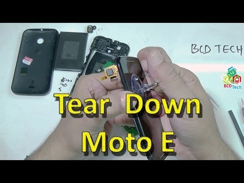Moto E: Tear down, Assembly, Dis-assembly and Parts View