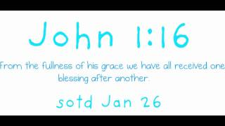 Scripture of the day, January 26 2012