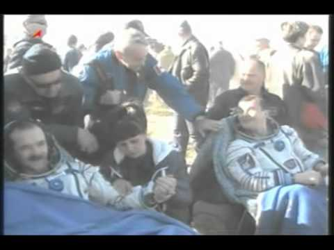 Space Station Crew Lands in Kazakhstan | Expedition 35 | NASA ISS Science Video