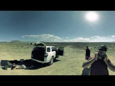 VR 360 Desert Range Gun Shooting - GoPro Omni VR 360