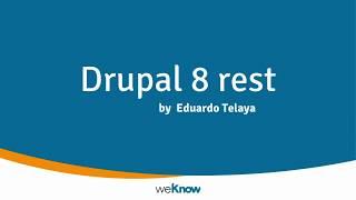 Drupal 8 Rest