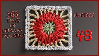 365 Days of Granny Squares Number 48