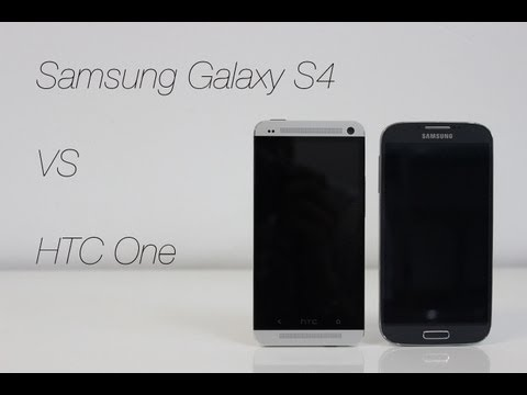 Comparativa Samsung Galaxy S4 vs HTC One