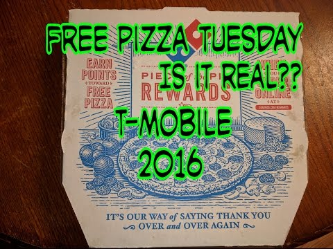 T-Mobile Tuesdays Free Pizza: IS IT REAL 2016 ??? VLOG