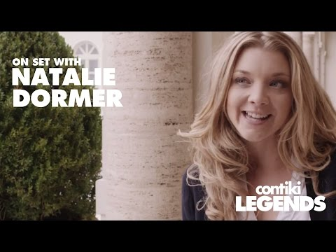 Behind the scenes with Natalie Dormer on the set of Contiki Legends