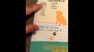 video New to planners so please be kind.