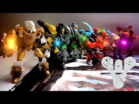 Guardians - Destiny (Hero Factory MOCs)
