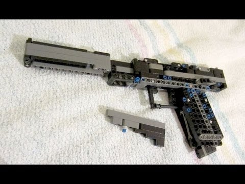 Lego Rubber Band Gun Instructions