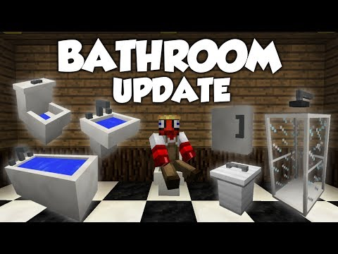 MrCrayfish's Furniture Mod Showcase: Bathroom Update!