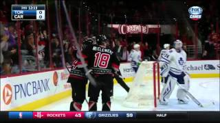 Maple Leafs @ Hurricanes Highlights 11/20/15