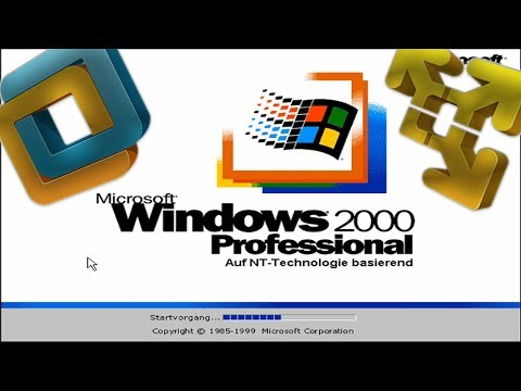 Windows 2000 in Virtueller Maschine installieren! Tutorial mit VMware - Deutsch/HD