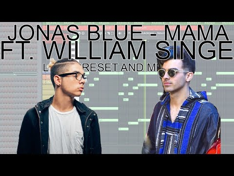 Jonas Blue - Mama (Lead Preset & Melody Tutorial) ft. William Singe (Free Download)