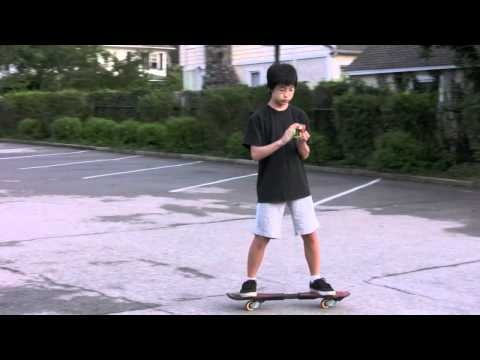 Watch Rubik's Cube on Ripstik