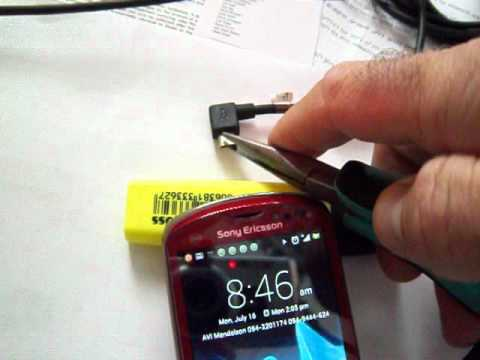 How to fix a broken micro USB charger in five seconds