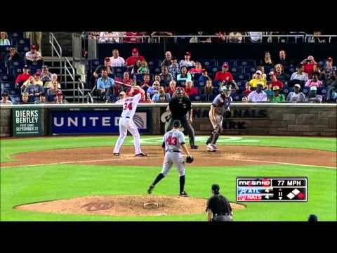 Bryce Harper - 2012 Washington Nationals Rookie Highlights HD