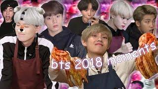Ultimate Bts moments of 2018 Pt.2