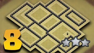 Download TH8 Best War Base | Town Hall 8 Anti 3 Star (Tested All Combo + Replays Proof) | Clash of Clans 3Gp Mp4