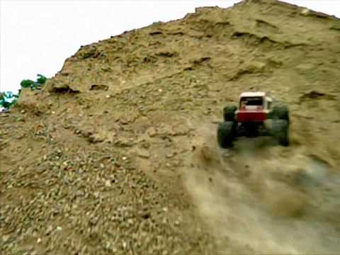 Hill Climb in UltraSlo slow motion