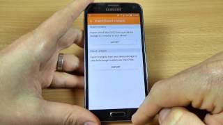 Samsung Galaxy S5 Neo - How to copy contacts from sim card