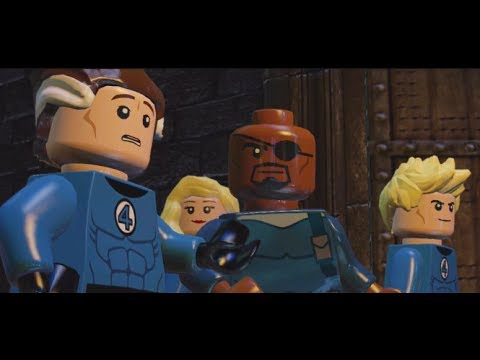 LEGO: Marvel Superheroes - Chapter 9: Doctor in the House (Fantastic Four, Nick Fury)