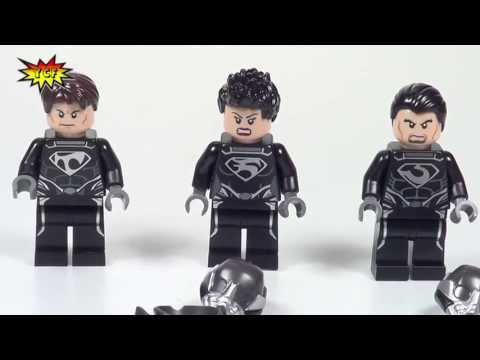 LEGO Man of Steel Superman Battle of Smallville Review 2013 Super Heroes LEGO 76003