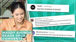Download Lagu Maudy Ayunda Reads Your Comments | Aku Sedang Mencintaimu Gratis STAFABAND