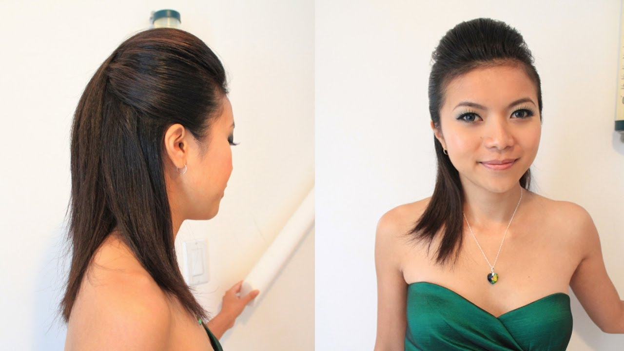 Sleek Pompadour Hairstyle For Short Medium Long Hair