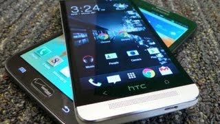 HTC One vs. Samsung Galaxy Note II Dogfight Part 1