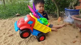 Trò Chơi Xe Tải Phiêu Lưu Săn Con Vật ❤ ChiChi ToysReview TV ❤ Đồ Chơi Trẻ Em Baby Fun
