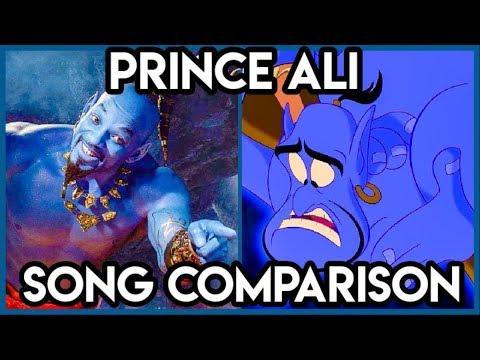 Aladdin 'Prince Ali' Song Comparison