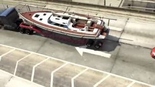 GTA 5. Отец и сын. Погоня за яхтой. 5 миссия | Father and son. The pursuit of the yacht. 5 mission