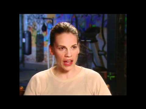 Hillary Swank's Is In Awe Of Boxing