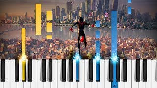 Post Malone Swae Lee Sunflower Spider Man Into The Spider Verse Piano Tutorial