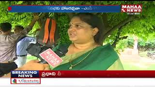 Face To Face With MP Kothapalli Geetha Over 'No Confidence Motion'