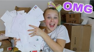 OPENING MY FAN MAIL!