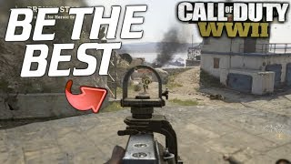 How to Be the BEST PLAYER! COD WW2!