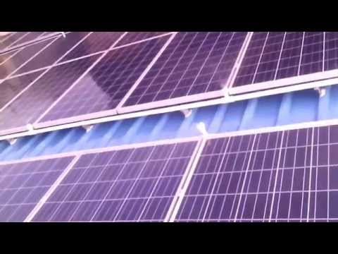 Automatic Cleaning System for Solar PV plant by SOLAR INERTIA